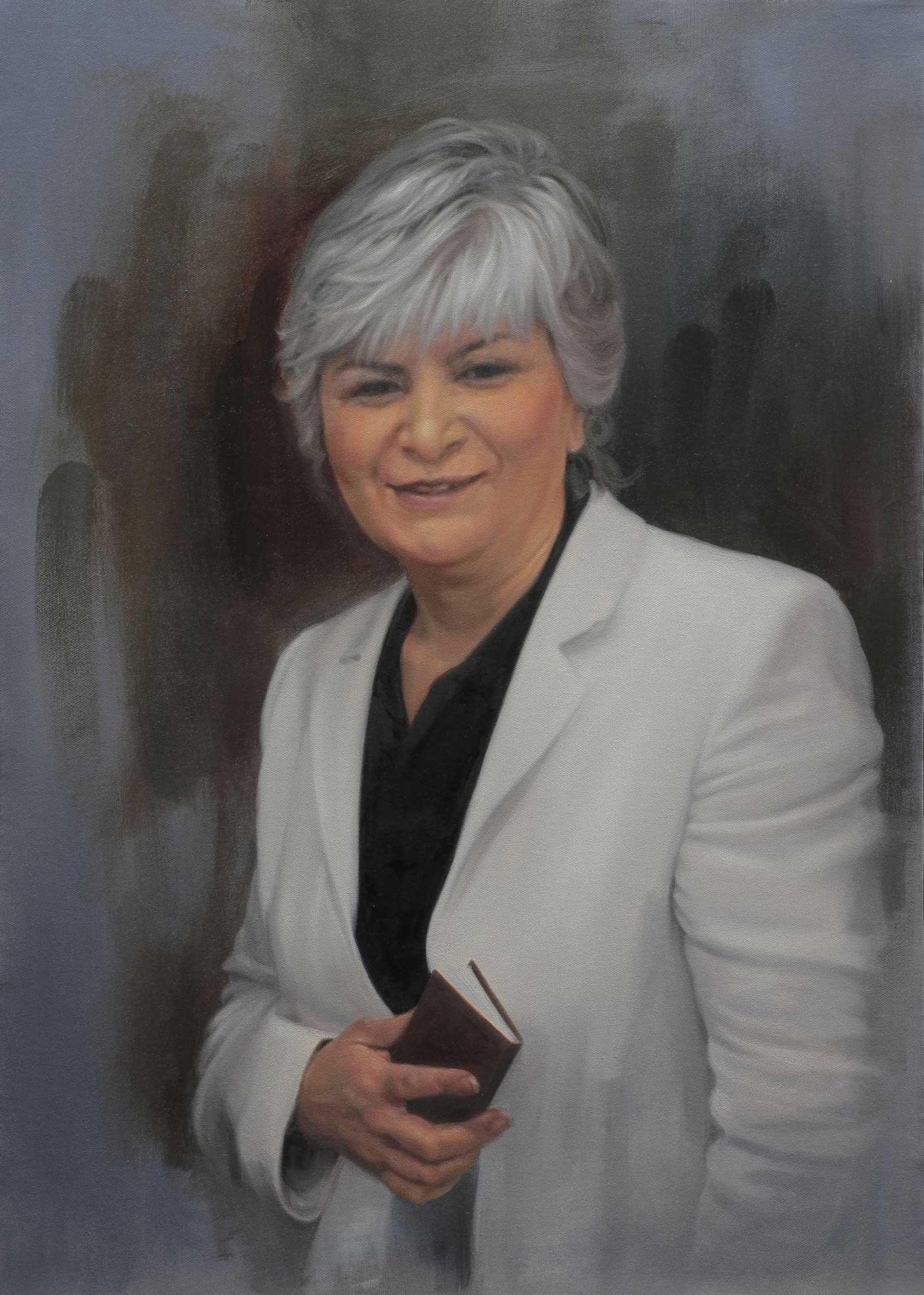 Portrait of Woman, Oil on Canvas, 50x70, 2016